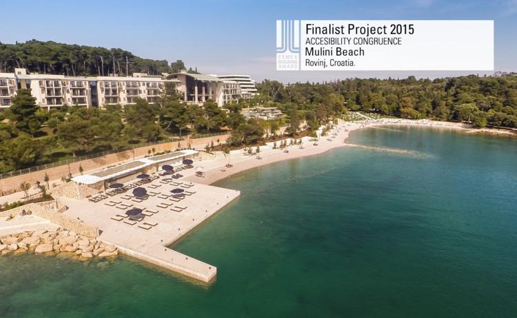 Finalista Congruencia en accesibilidad - Mulini Beach. Image © Joao Morgado. Courtesy of CEMEX.