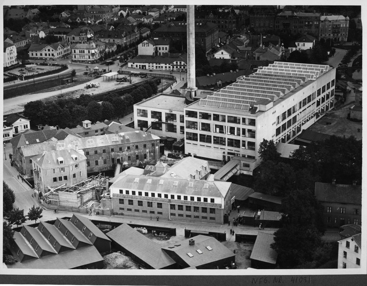 Original Situation. Image Courtesy of Nils Sjöden, Åke Erson and Thorbjörn Andersson, Sweco architects
