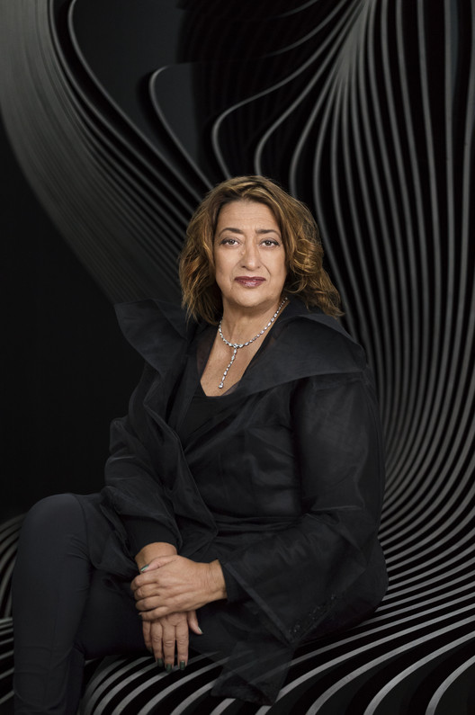 Zaha Hadid. Image © Mary McCartney