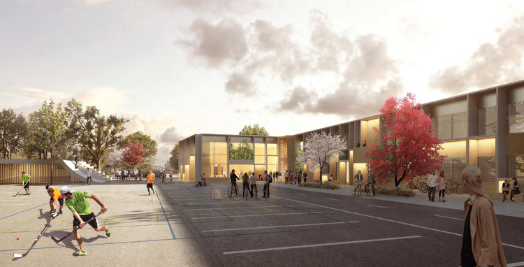NORD Architects Wins Contract for New Furesø City Hall , Courtesy of NORD Architects