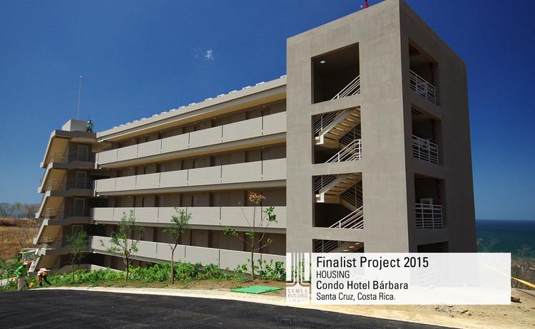 Finalista Vivienda - Condo Hotel Bárbara. Image © EDICA LTDA. Courtesy of CEMX.