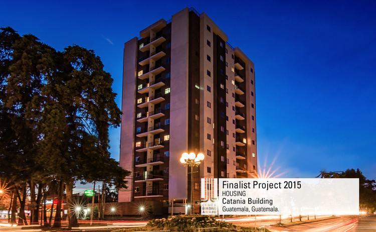 Finalista Vivienda - Catania Building. Image © Luis Roberto Lainez. Courtesy of CEMEX.