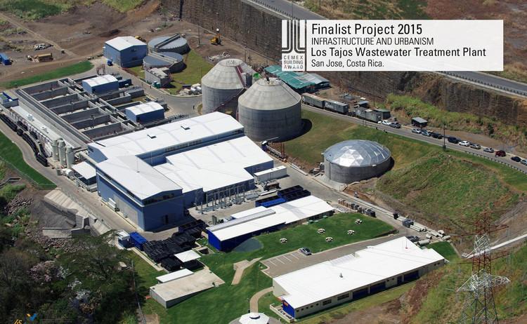 Finalista Infraestructura - Urbanismo - Los Tajos Wastewater Treatment Plant. Image © Constructora Van der Laat y Jiménez. Courtesy of CEMEX.