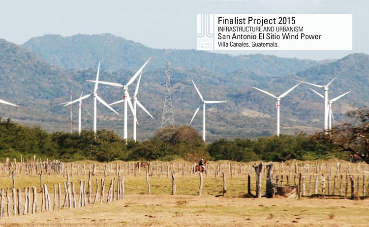 Finalista Infraestructura - Urbanismo - San Antonio El Sitio Wind Power. Image © PICAWA, Alexa Caballeros, Josh Herrera. Courtesy of CEMEX.