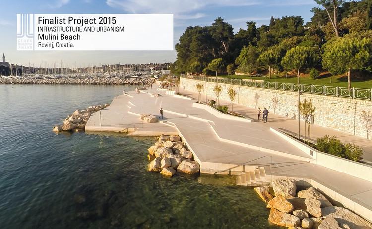 Finalista Infraestructura - Urbanismo - Mulini Beach. Image © Joao Morgado. Courtesy of CEMEX.