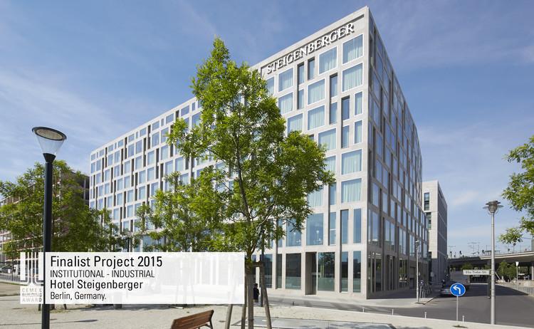 Finalista Institucional - Industrial  - Hotel Steigenberger. Image © Stefan Josef Müller. Courtesy of CEMEX.