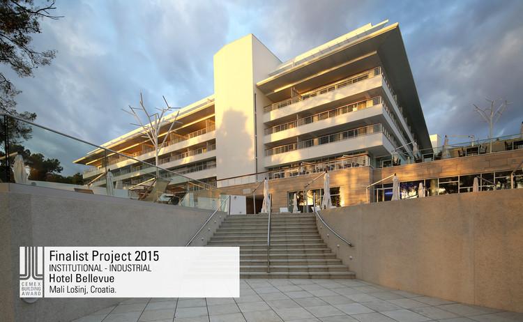 Finalista Institucional - Industrial  - Hotel Bellevue. Image © Hrvoje Serdar, Damir Fabijanić, Senja Vild. Courtesy of CEMEX.