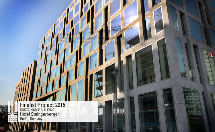 Finalista Construcción sustentable - Hotel Steingerberger. Image © Stefan Josef Müller . Courtesy of CEMEX.