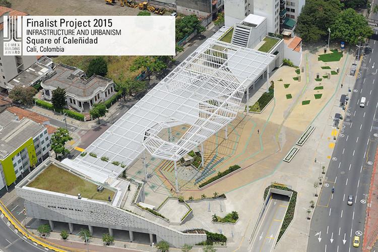 Finalista Infraestructura - Urbanismo - Square of Caleñidad. Image © Plazoleta de la Caleñidad. Courtesy of CEMEX.