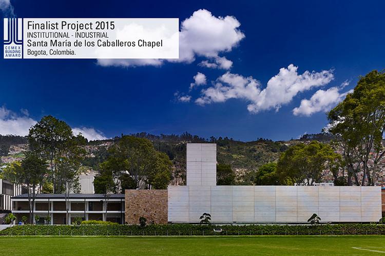 Finalista Institucional - Industrial - Santa María de los Caballeros Chapel. Image © Capilla Santa María de los Caballeros. Courtesy of CEMEX.