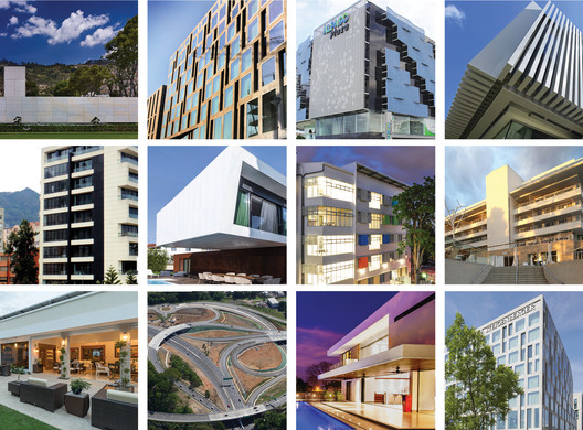 A selection of the finalist projects for the CEMEX Building Awards