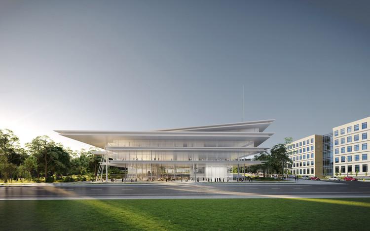 Renzo Piano inicia construcción de la sede de Kum & Go, © RPBW
