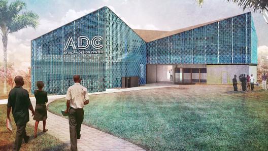 "Design of the African Design Center. Image via screenshot from video.  MASS Design Group to Propose ""Bauhaus of Africa"" at UN Summit African Design Center"