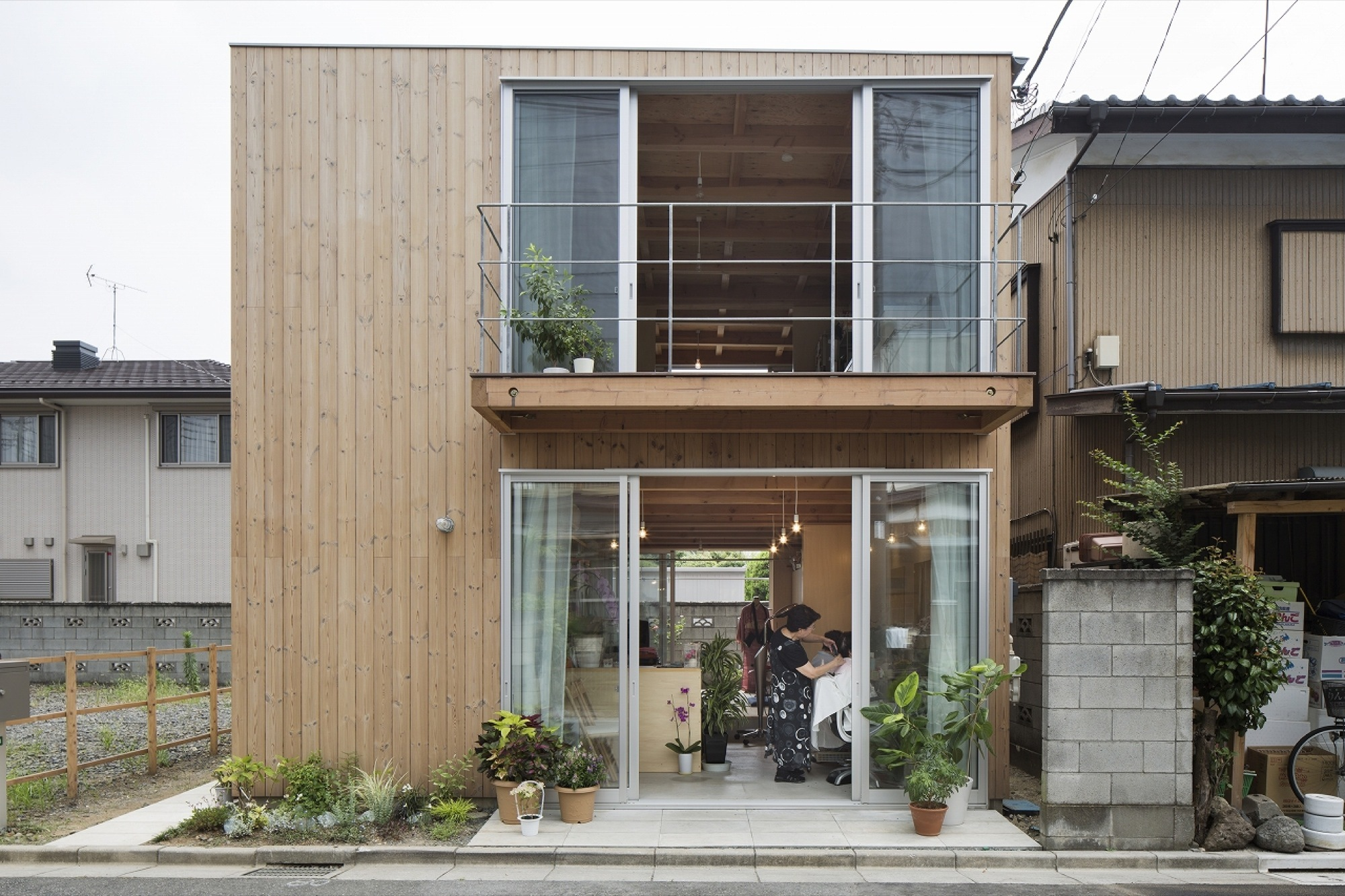 Gallery Of Wooden Box House Suzuki Architects 1