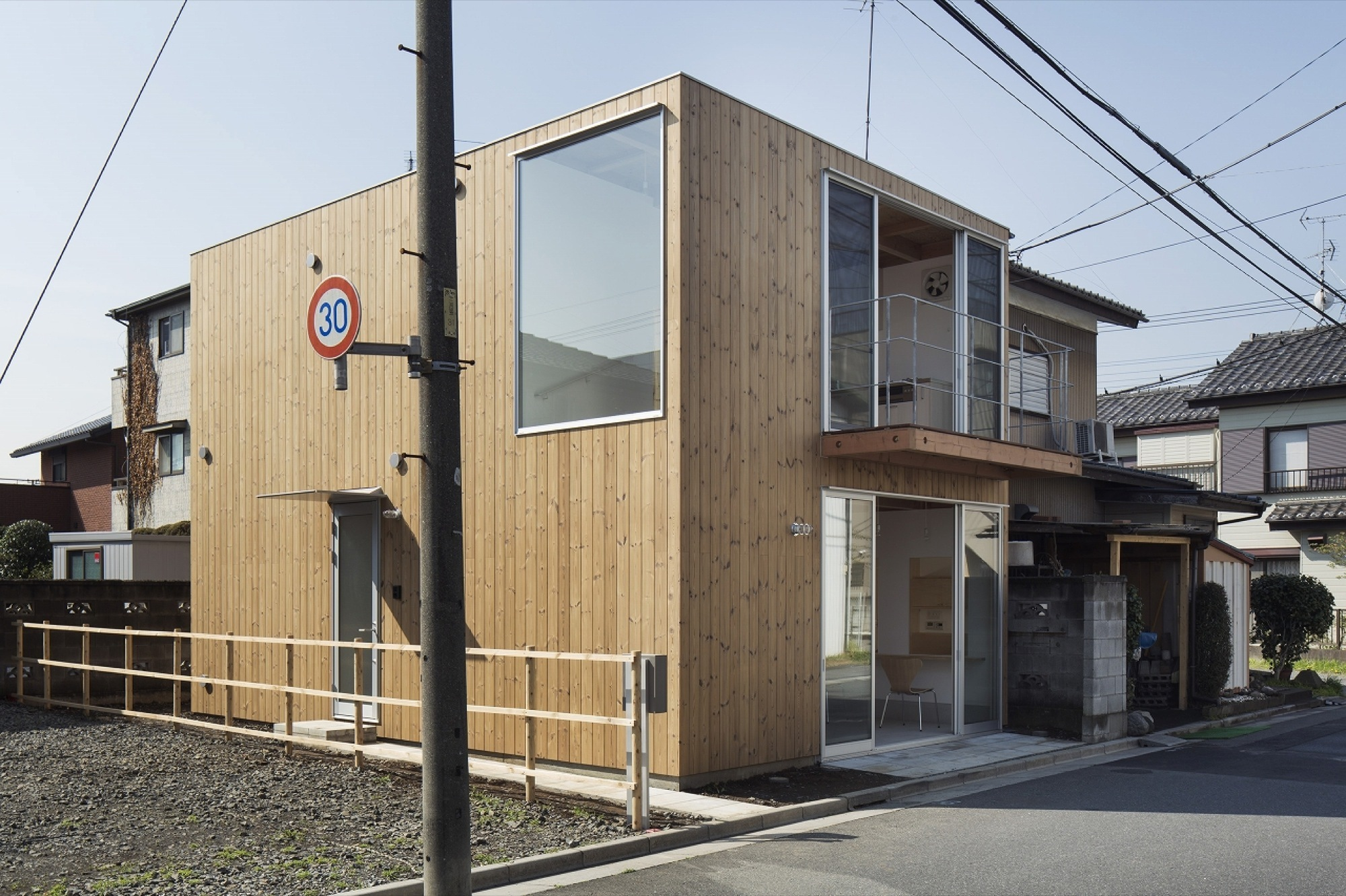 Gallery Of Wooden Box House Suzuki Architects 4