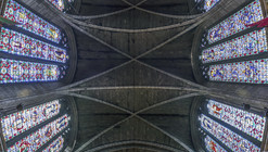 Richard Silver's Stunning Vertical Panoramas of New York Churches