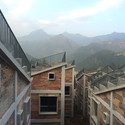 Casas em Jintai após. Imagem © Rural Urban Framework (RUF)