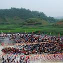 Playground da escola de Qinmo. Imagem © Rural Urban Framework (RUF)