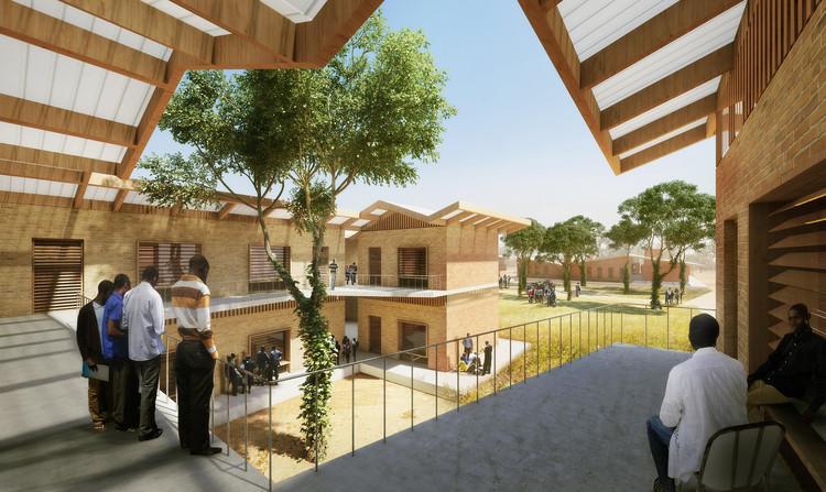 Dormitorios de niños. Imagen © Kéré Architecture