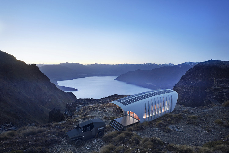 This 3D-Printed Building by SOM is Powered by a 3D-Printed Car, Courtesy of SOM
