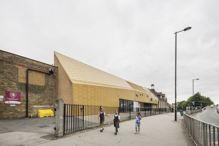 AR School Awards Revealed, Winner: Whitehorse Manor School; London / Hayhurst and Co. Image © Anthony Coleman