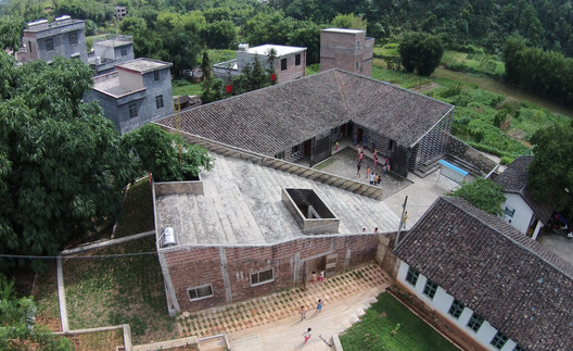 Commended: Mulan Village School; China / Rural Urban Framework. Image © Rural Urban Framework