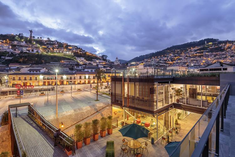[10] Extensión del Museo de la Ciudad, MC- M+A (Rubén Moreira, Natalia Corral, Pablo Moreira, Yadhira Álvarez y Milton Chávez), Quito, 2014. Image © Sebastián Crespo