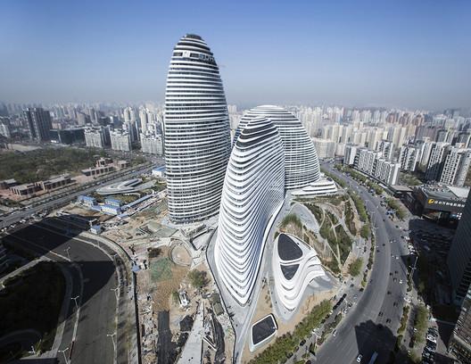 Wangjing SOHO; Beijing, China / Zaha Hadid Architects. Image © Feng Chang