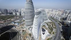 Zaha Hadid's Wangjing SOHO Wins Emporis Skyscraper Award
