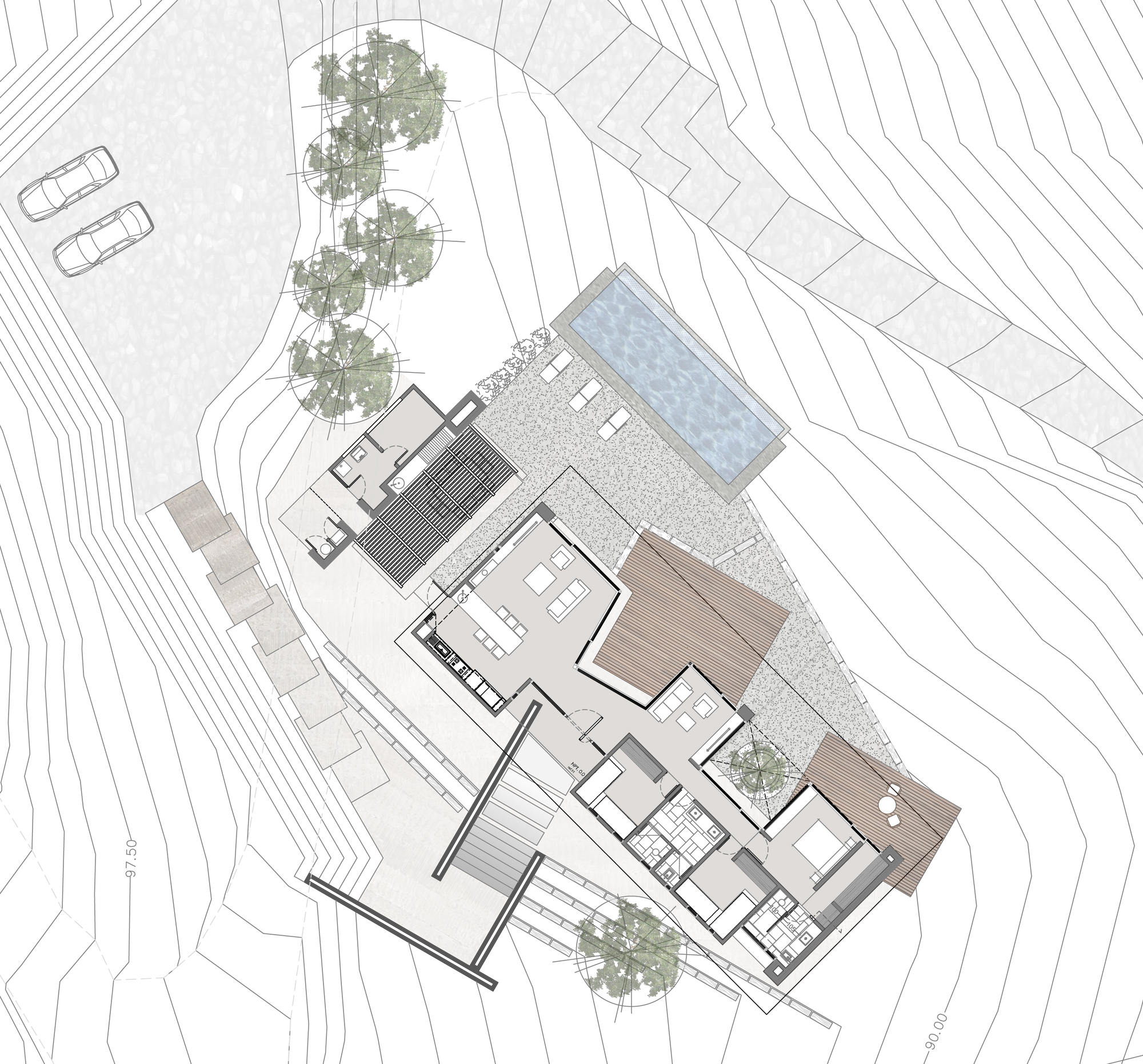 Gallery of san esteban house bedodostudio 9 for Web design blueprints