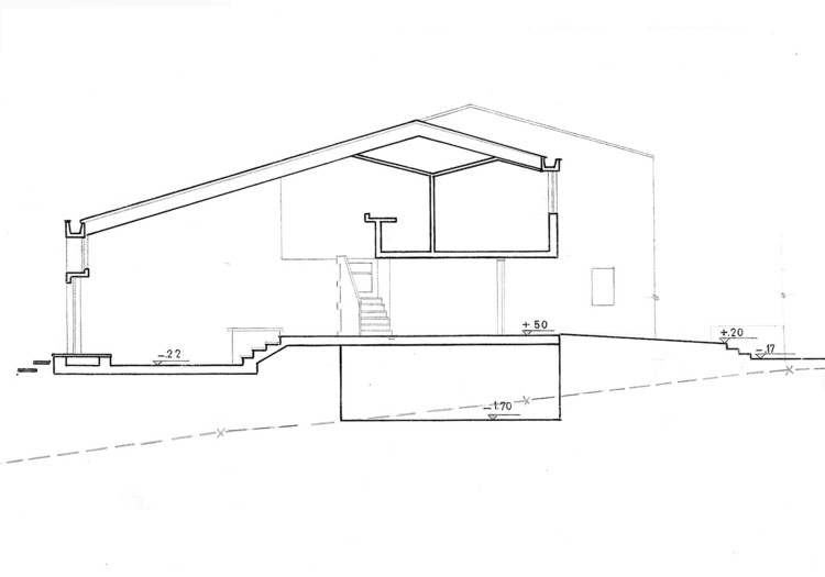 Figura 3. Urbanización San José: sección transversal. Image © Fundación Rogelio Salmona