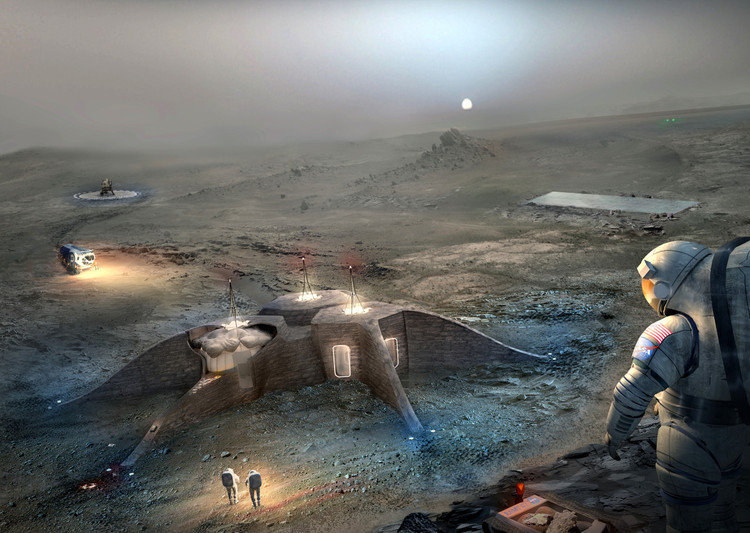 Team Gamma's second place proposal. Image Courtesy of NASA