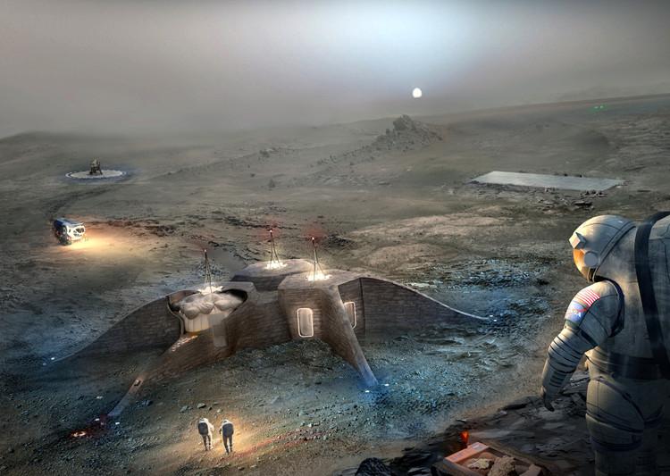Propuesta segundo lugar: Team Gamma. Imagen cortesía de NASA