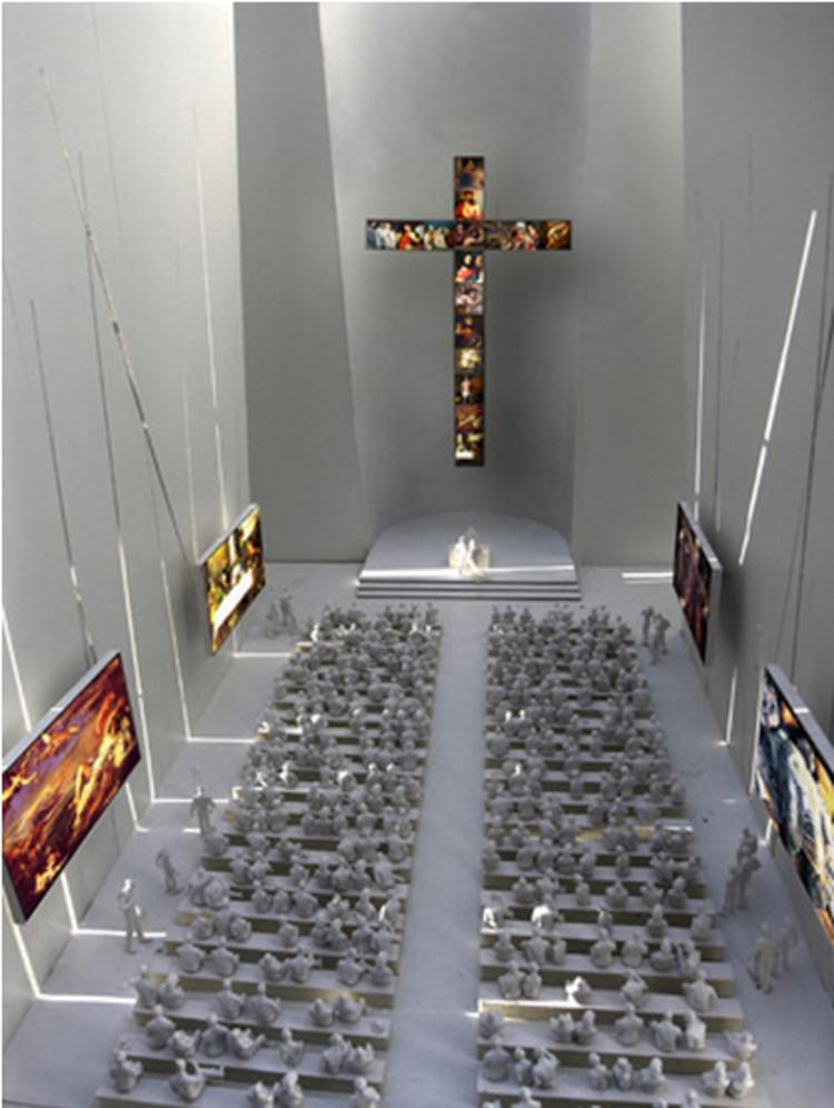 Iglesia de la Natividad, Culiacán. Image vía herzogdemeuron.com