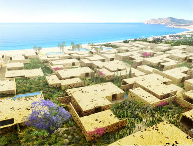 Quinta Dos, Los Cabos. Image vía herzogdemeuron.com