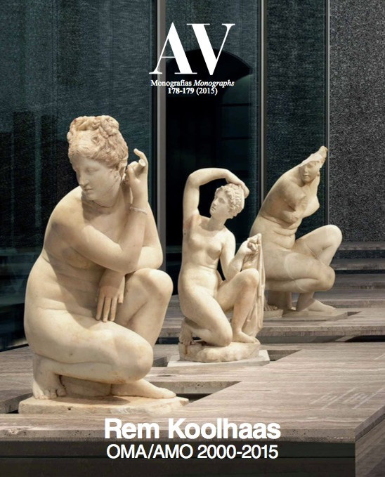 av monographs looks at 15 years of rem koolhaas and omacourtesy of arquitectura viva
