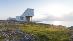When the Strange Meets the Familiar: Saunders Architecture on Fogo Island