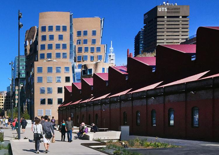 """""""The Goods Line"""" en Sidney, Australia. Image © Autoridad del Puerto de Sidney"""