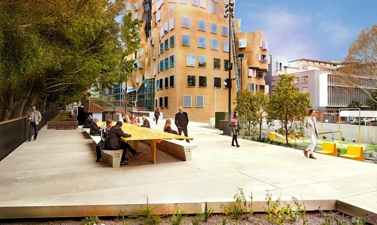 """Inauguran la primera etapa de """"The Goods Line"""", el High Line australiano, """"The Goods Line"""" en Sidney, Australia. Image © Autoridad del Puerto de Sidney"""