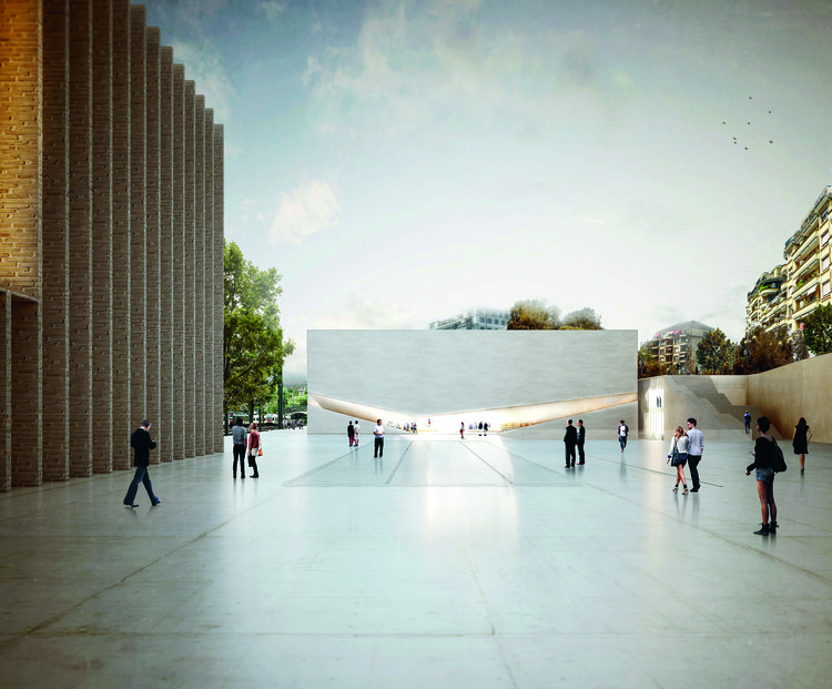 Aires Mateus Wins Competition to Design New Pôle Muséal of Lausanne, © Aires Mateus