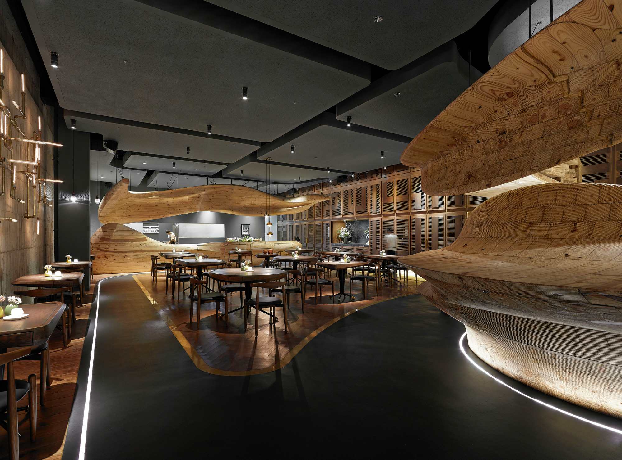 Gallery of restaurant bar design award winners