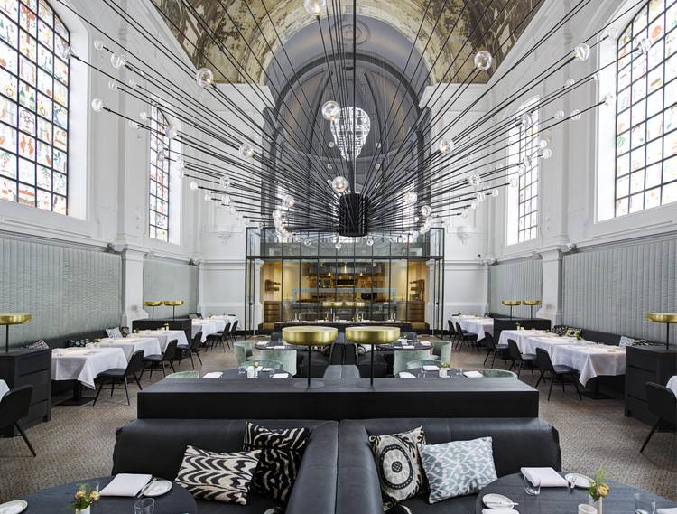 The Jane; Belgium / Studio Piet Boon. Image Courtesy of The Restaurant & Bar Design Awards