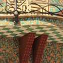 Detalle de la Casa Vicens. Image © Michela Simoncini [Flickr CC]