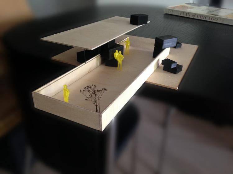 Modelo. Imagen Cortesía de NLE Architects