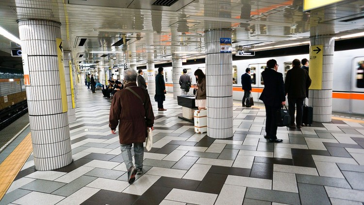 Metro de Tokio, Japón. Image © Antonio Tajuelo, vía Flickr