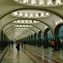 Metro de Moscú, Rusia. Image © haikus, vía Flickr