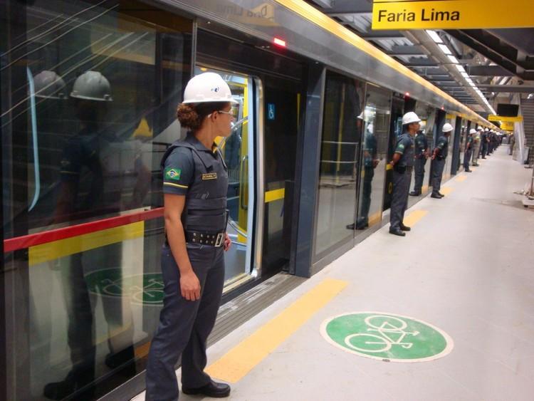 Metro de Sao Paulo, Brasil. Image © Blog do Mílton Jung, vía Flickr