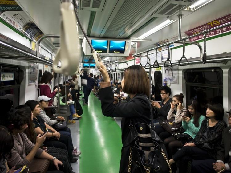 Metro de Seúl, Corea del Sur. Image © mardruck, vía Flickr