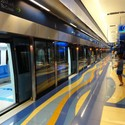 Metro de Dubai, Emiratos Árabes Unidos. Image © travelourplanet.com, vía Flickr