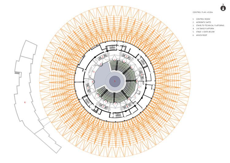 Floor Plan +9.00m